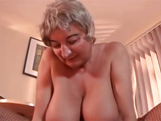 Granny with great tits